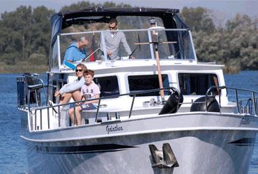 Chartern mit der Familie